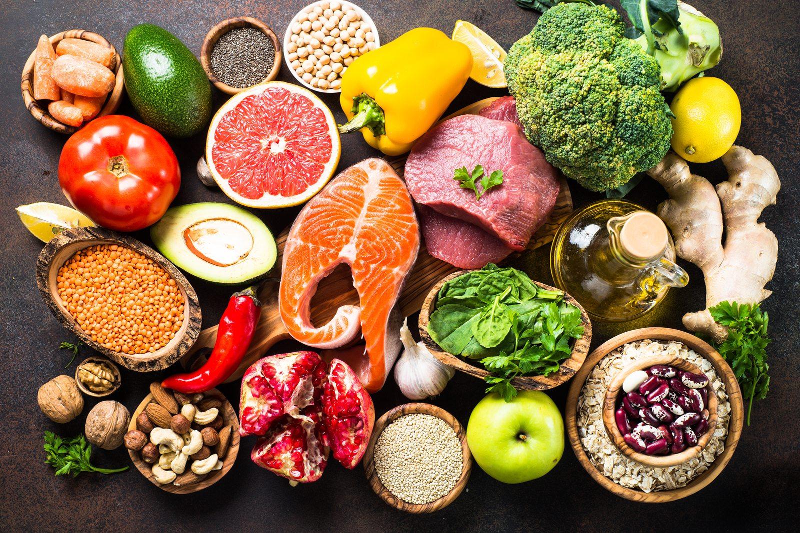 تنوع غذایی پروتیینی و گیاهی