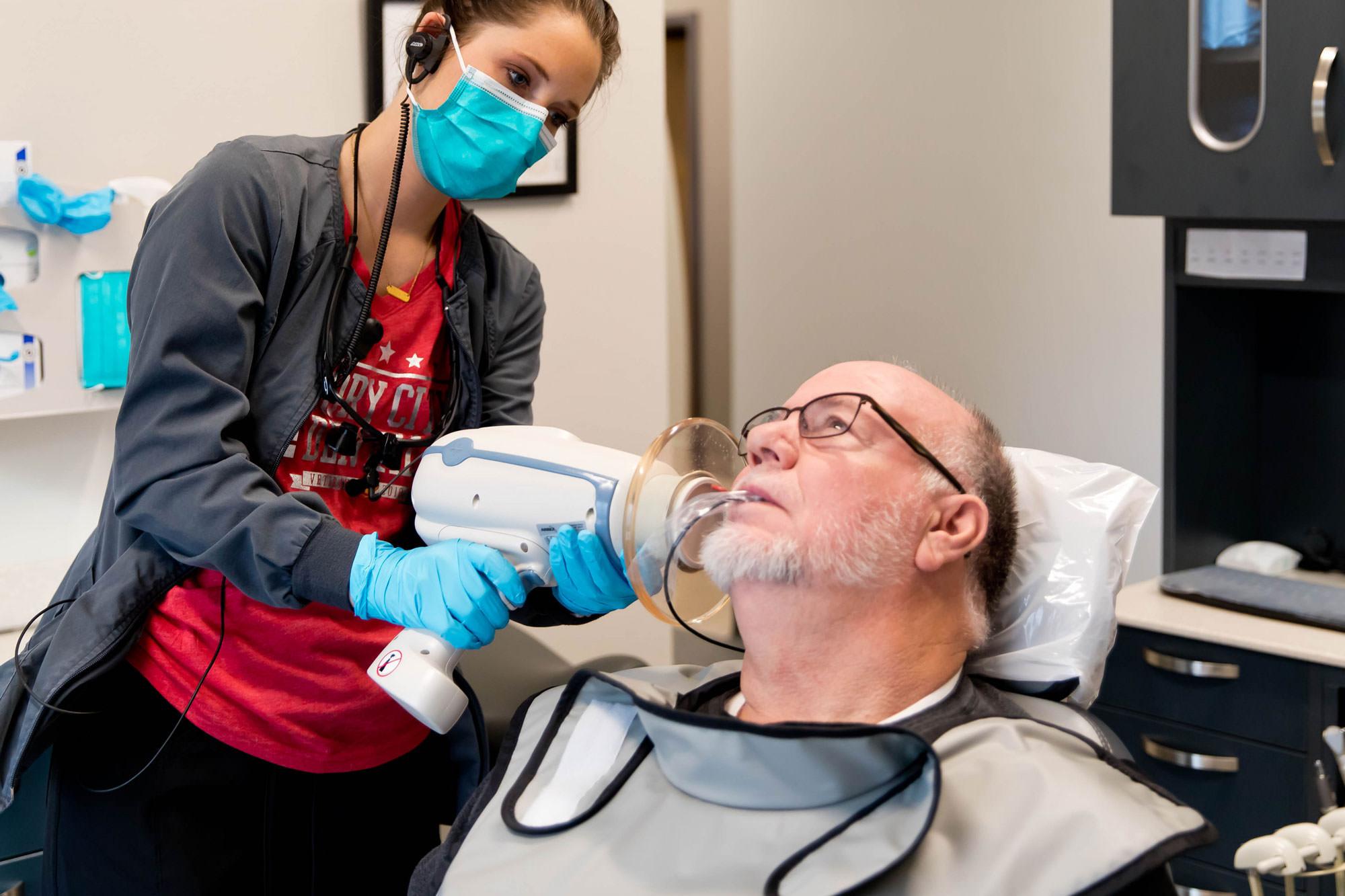 ایکس ری دندان بدون خطر