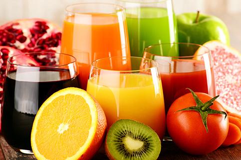 میوه ها و نوشیدنی های اسیدی