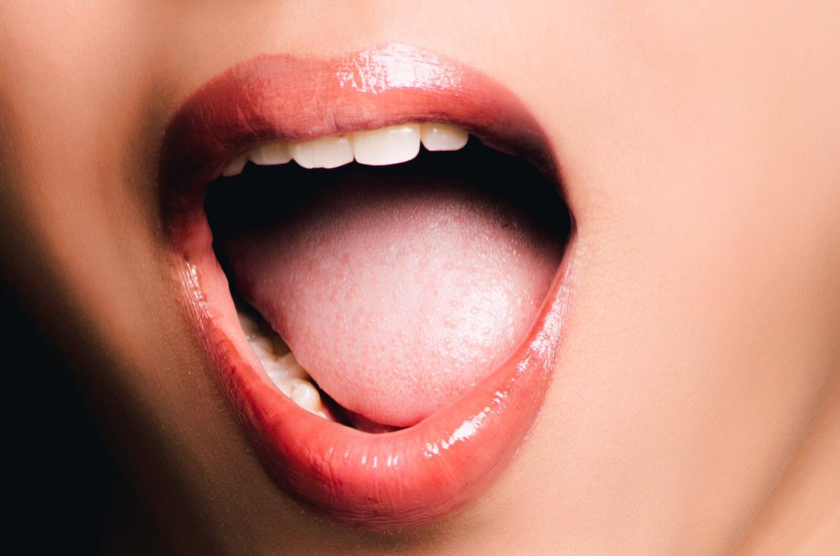 احساس سوزش زبان